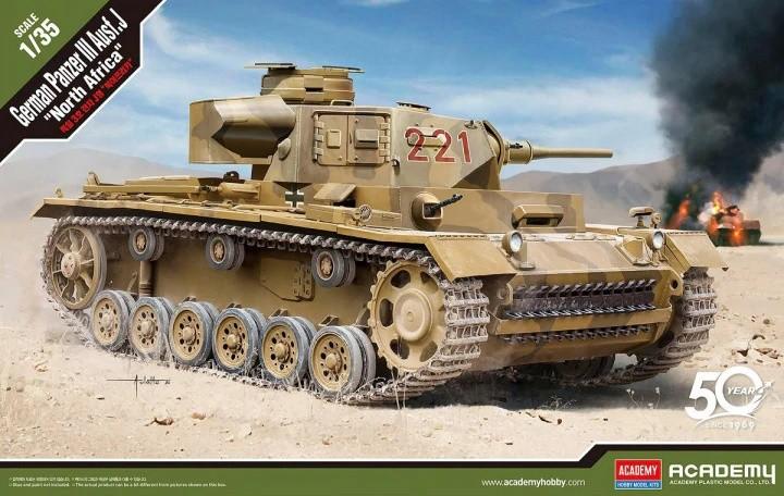 Academy 13531 1/35 Panzer III Ausf. J North Afrika