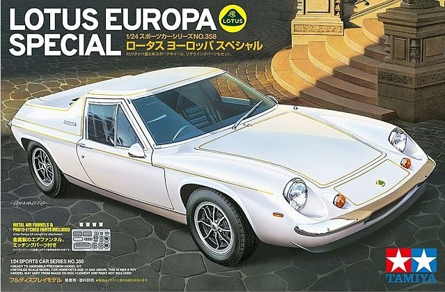 Tamiya 24358 1/24 Lotus Europa Special