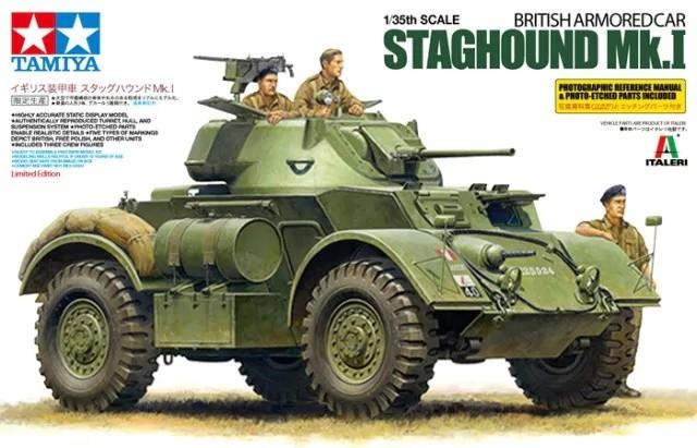 Tamiya 89770 1/35 British Armored Staghound - Mk.1