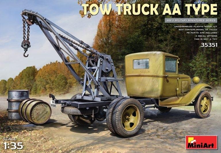 MiniArt 35351 1/35 TOW TRUCK AA TYPE