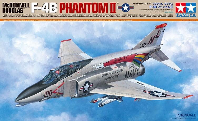 tamiya 61121 1/48 McDonnell Douglas F-4B Phantom II