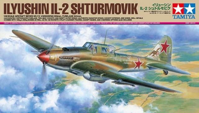 Tamiya 61113 1/48 Ilyushin IL-2 Shturmovik