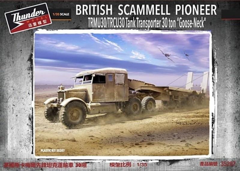 Thunder Models 35207 1/35 British Scammell Pioneer TRMU30/TRCU30