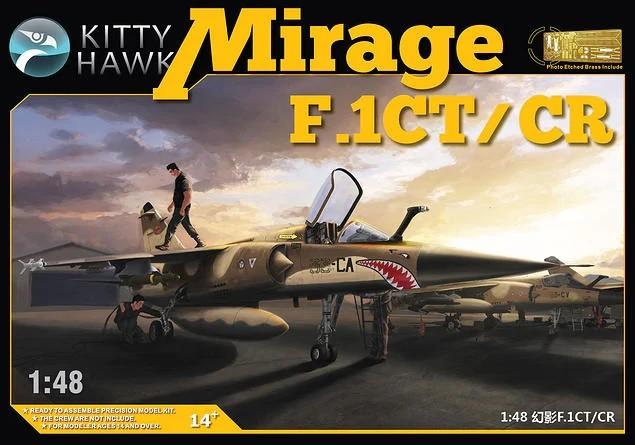 Kittyhawk 80111 1/48 MIRAGE F.1 CT/CR