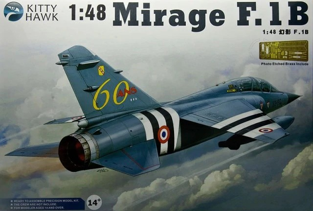 Kittyhawk 80112 1/48 MIRAGE F.1B