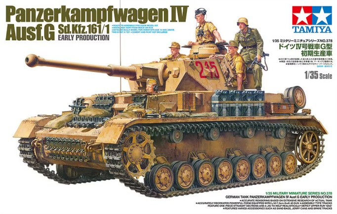 Tamiya 35378 1/35 Pz.Kpfw.IV Ausf G Early