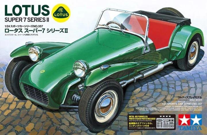 Tamiya 24357 1/24 Lotus Super Series II